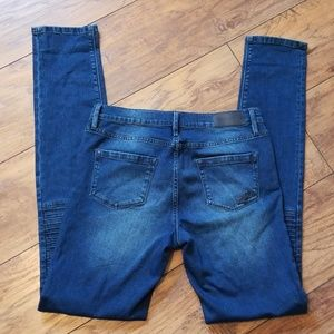 Karl Lagerfeld Jeans - Karl Lagerfeld Paris Ribbed Knee Jeans